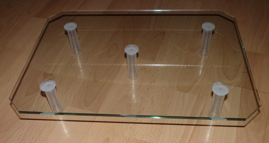 półka szklana
