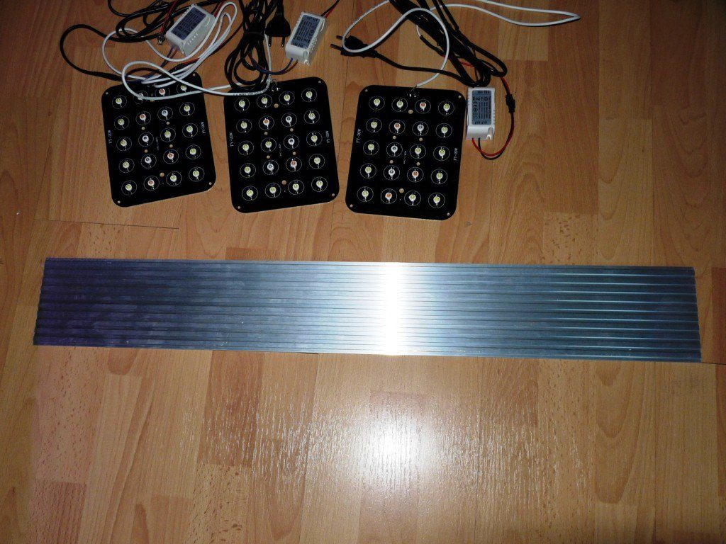 panel14 zestaw led i radiator