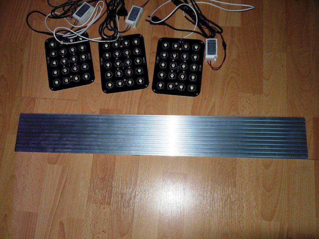 panel14 zestaw led i radiator