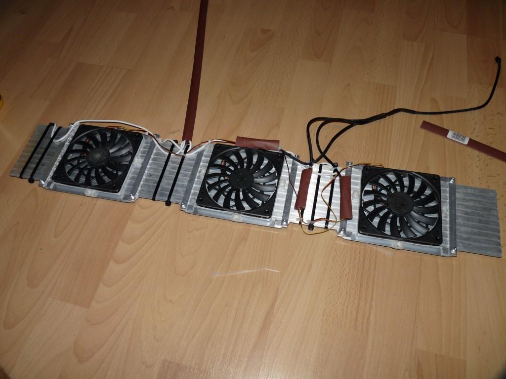 Gotowy panel power LED z chłodzeniem